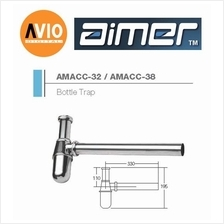 AIMER MALAYSIA AMACC-38  ZINC CHROMED BOTTLE TRAP