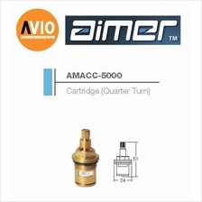 AIMER MALAYSIA AMACC-5000 BRASS CARTRIDGE QUARTER TURN
