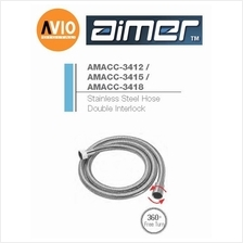 AIMER MALAYSIA AMACC-3412 1.2M STAINLESS STEEL HOSE DOUBLE INTERLOCK