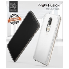 Original Upgraded Ringke Fusion Oneplus 6 One Plus 6 case cover
