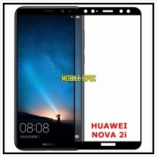 Huawei Nova 2i Full Cover Color Tempered Glass Screen Protector