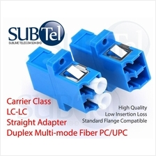 LC-LC MMF Multimode Fiber Optic Adapter Duplex Coupler