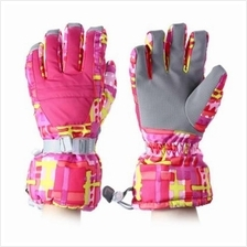 WATER RESISTANT WINDPROOF WARM SKI GLOVES FOR CYCLING RIDING SNOWMOBIL