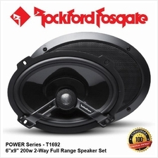 ORI ROCKFORD FOSGATE POWER T1692 200W 6x9 2-WAY COAXIAL SPEAKER SET