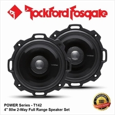 ORI ROCKFORD FOSGATE POWER T142 80W 4 2-WAY COAXIAL SPEAKER SET