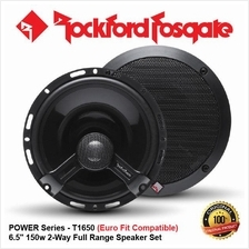 ORI ROCKFORD FOSGATE POWER T1650 150W 6.5 2-WAY COAXIAL SPEAKER SET