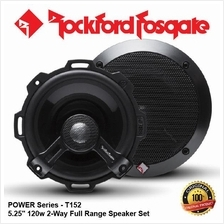ORI ROCKFORD FOSGATE POWER T152 120W 5.25 2-WAY COAXIAL SPEAKER SET
