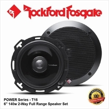 ORI ROCKFORD FOSGATE POWER T16 140W 6 2-WAY COAXIAL SPEAKER SET