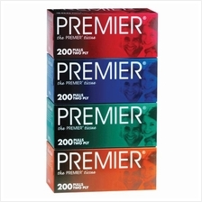 [Monthly Promotion]PREMIER Facial Tissue 4 x 200s - 3 Packs)