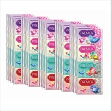Premier Pocket Tissue 10 Sheets  X 16 Pkts  x 5 Tube)