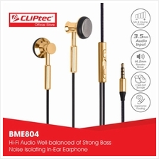 CLiPtec Equal Metal In-Ear Earbuds BME804)