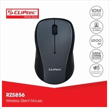 CLiPtec XILENT II 2.4Ghz 1200dpi Wireless Silent Mouse RZS856)