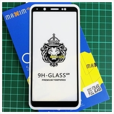 Vivo V7 / V7 Plus Full Cover Color Tempered Glass Screen Protector