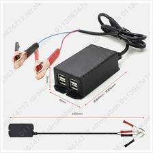 12V 24V 8V - 30V Usb Charger Solar Car Motor Battery 2.1A 4 Port 4 USB