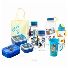 EPLAS Bottle  & Lunch Box Set (Blue) - EP-DC/A/8