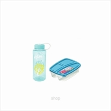 Eplas 600ml Bottle and Elianware Lunch Box Set - EGE-600BPA/ E-244