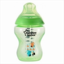 Tommee Tippee Closer To Nature Tinted Bottle 260ml/9oz (Single) *Green