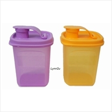 Tupperware Mini Pour (2) 350ml - Purple & Orange