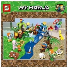 SY693 Minecraft Minifigures (8 in 1)