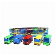 Tayo The Little Bus Wind Up Toy Car (5 in 1)