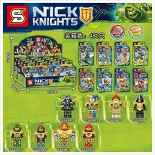 SY694 Nexo Knights Minifigures (8 in 1)