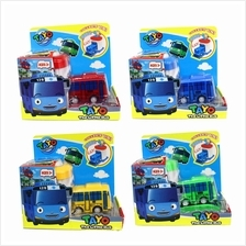 Tayo The Little Bus Bus Depot Center Pull Back Car Playset