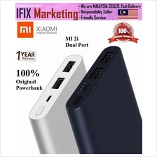 MI 2i 10000mAh (100%Original XIAOMI) Power Bank Dual USB Output