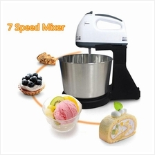 Super 7 Speed Hand Stand Mixer With 2L Stainless Steel Bowl