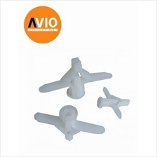 BL001 BUTTERFLY PLUG FOR PARTITION USE (10 PCS)