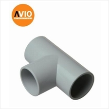 INSPECTION TEE (25MM) 25 mm TEE T Type Socket Joint ( 10 PCS )