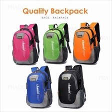 Quality Rusksack School Backpack Travel Bag Laptop Outdoor Bags Beg Se