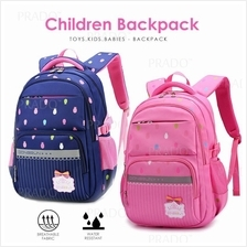 Korean Quality School Backpack Student Light Weight Bags Beg Budak