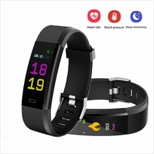 115 Plus Heart Rate Monitor Blood Pressure Monitor Color Screen Activi