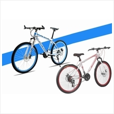 26 Inch Folding Bike Foldable Bicycle Cycling Speed Double Disc Brake