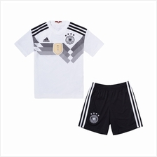 Germany Kid Home World Cup 2018 CLIMALITE Fans Jersey and Short