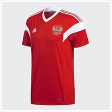 Russia Men Home Long Sleeve World Cup 2018 CLIMALITE Fans Jersey