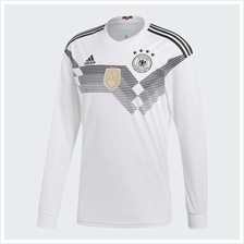 Germany Men Home Long Sleeve World Cup 2018 CLIMALITE Fans Jersey