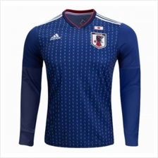 Japan Men Home Long Sleeve World Cup 2018 CLIMALITE Fans Jersey