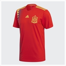 Spain Men Home World Cup 2018 CLIMALITE Fans Jersey