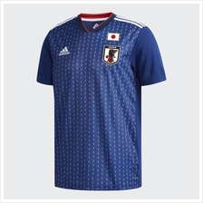Japan Men Home World Cup 2018 CLIMALITE Fans Jersey