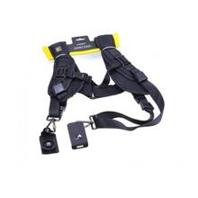 Double Shoulder Sling Belt Quick Release Strap K for 2 DSLR Camera