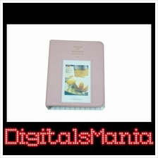Light Pink 64pcs Fujifilm instax mini film album - Ready Stock!!