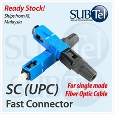 SC UPC Fast Fiber Optic Connector Patch Repair SMF