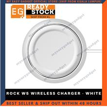 ROCK W5 WIRELESS CHARGER - WHITE