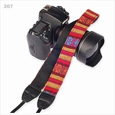 Vintage Camera Cotton Shoulder Strap Neck Strap Belt 207