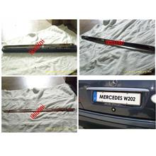 Mercedes Benz C-Class W202 '94-'99 Trunk Lid Chrome [Stainless Steel]
