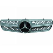 Mercedes Benz CL W215 `00-06 Front Grille SL Style (SL `08 Look) Black