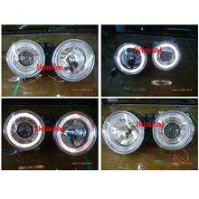 DEPO BMW E30 '83-97 LED Ring projector Head Lamp