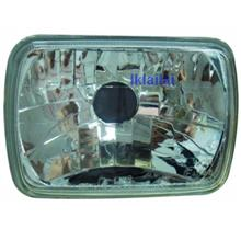 Universal Lamp Head Lamp Square Glass Lens 140x195mm [100-1120N-U]