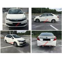 Perodua Bezza Sportivo Gear Up Full Set Body Kit
